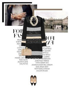 """""""Shadow of the Day"""" by veronicamastalli ❤ liked on Polyvore featuring D&G, Manolo Blahnik, Elie Saab, women's clothing, women's fashion, women, female, woman, misses and juniors"""