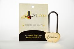 LoveLocks Solid Brass Love Lock Double Heart to take to Paris Love Lock, Somebody To Love, Perfect Love, Easy To Love, Eternal Love, Happy Heart, Romantic Gifts, Custom Engraving, Valentine Day Gifts