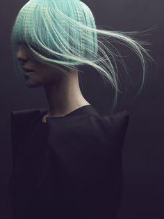 - #minthair #fashion #hairtrend