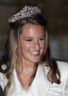 Lady Katie(Catherine)Percy, daughter of Ralph Percy, 12th Duke of Northumberland and Isobel Jane Richard, Duchess of Northumberland