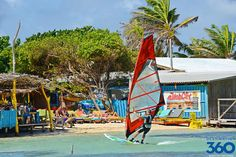 Lac Bay in Bonaire. Windsurfing at its best #jibecity #windsurfing #travel @ ActionTripGuru