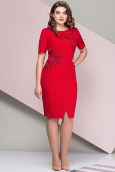 Платье Elady 2678 красный