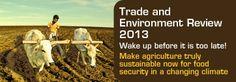 """United Nations Conference on Trade and Development: """"Wake up before it's too late"""".  Småskala økologisk jordbruk er den eneste måten å mette verden."""