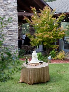 Wedding Planner: Mary Me Photographer: Kim Box Photography- Josh Moates Cake: Vickie Kyser