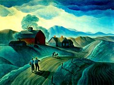 Dale Nichols (American, 1904-1995), Road to Adventure 1940