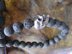 Lava & Skull Men's Bracelet