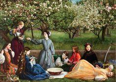Spring (Apple Blossoms) - John Everett Millais