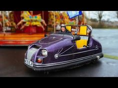 Dodging Traffic: Man Creates A Road Legal Bumper Car - YouTube