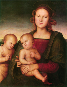 Perugino:  Virgin and Child  (1495)