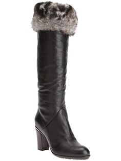 These Baldinini boots are $875.50 but you can have the same look for 39.99 with our faux fur boot toppers! www.mytopoftheboot.com