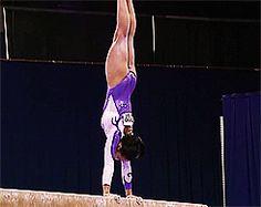 Gif of Samantha Shapiro's beam mount