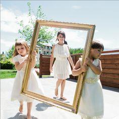 Nuestras pequeñas en un  dia especial con un vestido especial ! ! www.marcasanovas.com