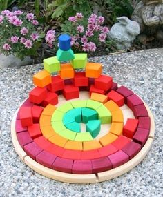 Grimm's Extra Large Chunky Rainbow Puzzle