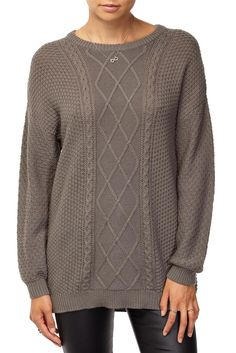 heritage cable pullover
