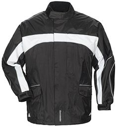 Special Offers - TOURMASTER Elite 3 Rain Motorcycle Jacket Black Bk/wh Size:XXS - In stock & Free Shipping. You can save more money! Check It (July 29 2016 at 08:10AM) >> http://motorcyclejacketusa.net/tourmaster-elite-3-rain-motorcycle-jacket-black-bkwh-sizexxs/