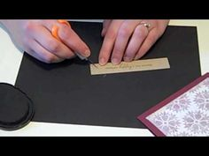 Faux Silk 101 with Papertrey Ink - YouTube