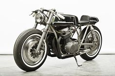 We've only just finished salivating over the Wrenchmonkees' 1976 BMW R80. And now the boys from Copenhagen have come up with a Japanese cafe racer that's just as good. The new bike is called Gorilla Punch, and it's based on the classic air-cooled, inline four Honda CB750. There are more delectable images on the Wrenchmonkees website, or you can see the motorcycle in the metal at Kunst Industri Museet, the Danish Museum of Art & Design. The price on the sticker? Cheaper than a run-of-the-mill…