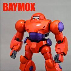 """Custom Build: HGBF 1/144 hi-Mock """"BAYMOX"""" - Gundam Kits Collection News and Reviews"""