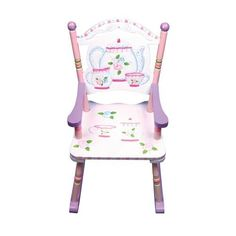 Guidecraft Tea Party Rocking Chair Our Baby, Baby Baby, Baby Gallery, Toddler Stuff, Shower Baby, Rocking Chair, Painted Furniture, Tea Party, Larger