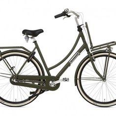 POPAL DAILY DUTCH PRESTIGE NEXUS 7 ARMY GREEN - Fietsshop.be Nexus 7, The Prestige, Army Green, Dutch, Bicycle, Veils, Bicycle Kick, Bike, Dutch Language