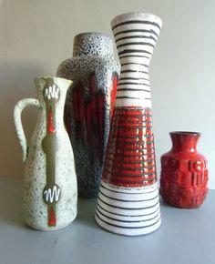Vase - 50er Jahre - Germany  von susduett  auf DaWanda.com