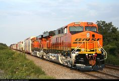 RailPictures.Net Photo: BNSF 6031 BNSF Railway GE ES44AC at Boughtonville, Ohio by BNSF ES44DC