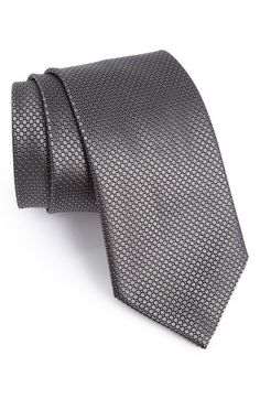 Ermenegildo Zegna Woven Silk Tie