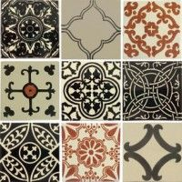 Black And White Tiles In Clical Designs But With A Twist For Modern Tastes Exclusively Crafted By Old World Our Renowned Quality Retion