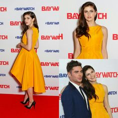 #AlexandraDaddario, and #ZacEfron at the Australian Premiere of #Baywatch in Sydney! • • • • • #AlexandraDaddario e #ZacEfron na pré-estreia australiana de #Baywatch em Sydney!