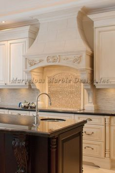 stone stove & range hood design | california | florida | new york | new Jersey
