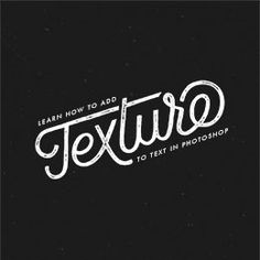 Tutorial: Learn How To Add Texture to Text - A Pair of Pears