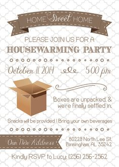 Housewarming Invitation  Got The Key Glitter  The OJays