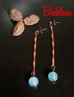 #rame #copper #handmade #handmadejewelry #bricklane #orecchini #gioielli #jewelry #earrings #elica