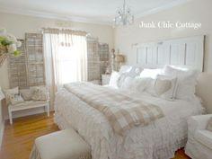 Bedroom…   chic cottage