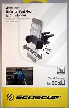 Smartphone-Car-Holder-Universal-Vent-Mount-by-Scosche