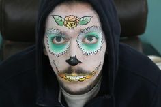 Lilly Wood & The Prick and Robin Schulz - Prayer In C (Robin Schulz Remix) (Official) Sugar Skull Face Paint. www.youtube.com/georgiaparis1989
