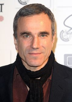 Daniel Day lewis: actually ran into him in a shop in London!!