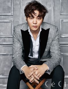 Joo Won - Ceci Magazine December Issue '15