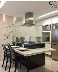 Luxury Kitchen Design, Kitchen Room Design, Best Kitchen Designs, Luxury Kitchens, Dining Room Design, Kitchen Layout, Home Decor Kitchen, Interior Design Kitchen, Home Kitchens