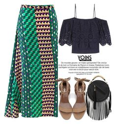 """Yoins"" by oshint ❤ liked on Polyvore featuring Ganni, yoins, yoinscollection and loveyoins"