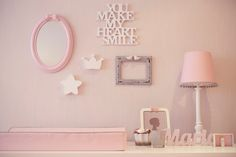 Perfect Home: New project: Grey and pink nursery