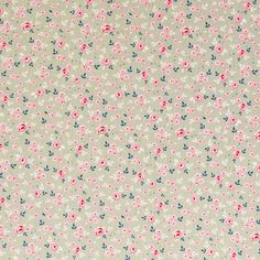 Items similar to Fabric Tilda Stine Greygreen on Etsy Pattern Paper, Pattern Art, Fabric Patterns, Print Patterns, Pattern Design, Papel Vintage, Vintage Paper, Print Wallpaper, Pattern Wallpaper