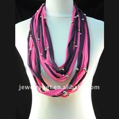 jewelry-scarf-multi-strand-necklace-scarf-fashion-scarves-necklace-bead-pendant-scarf-scarf-necklace-NL-1492C.jpg (500×500)