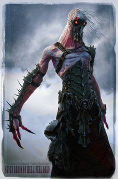 Seven Lords of Hell - Card Art by Herman Serrano | Horror | 3D | CGSociety
