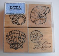CTMH Close to my heart  Stamp Set  S219 Seashells by by AJStuff, $10.00