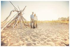 family beach photos - teepee driftwood beach sand lake sunset ©fresh snapped photos