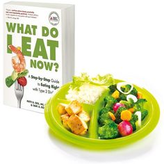 Diabetic meal plan ideas paired with Precise Portions Go Healthy Travel plate, for easy meal planning whether you're at home or on the go. Ideal for the newly diagnosed person with diabetes or anyone that would like to take a more structured approach.