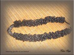 halsketting gemaakt van fietsbanden