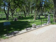 Ingalls Family Graves De Smet South Dakota