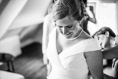 Bruidskapsel met sluier, bruiloft, bruidsfotografie, ideeën
